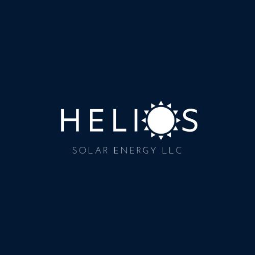 Helios Solar Energy official logo white