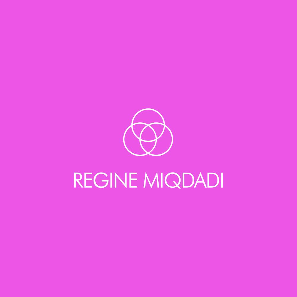 Regine Miqdadi official logo white
